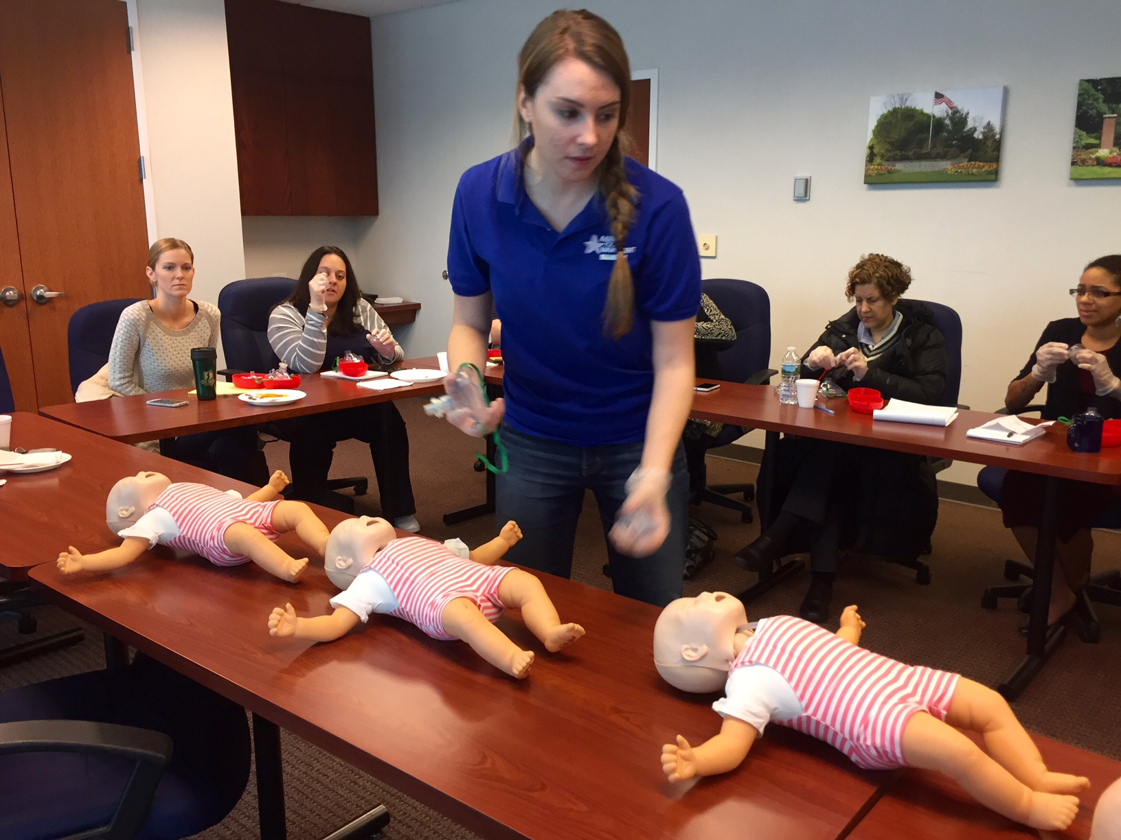 American Pool provides CPR training to RCP Management