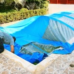 Cold weather pool maintenance