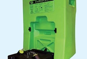 Install an eye wash station to comply with OSHA regulations